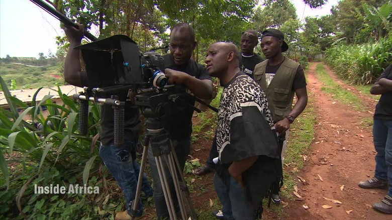 Making films in a country without cinemas