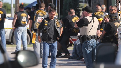 The history and violence of American motorcycle gangs