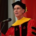 RESTRICTED Bill Nye graduation speech