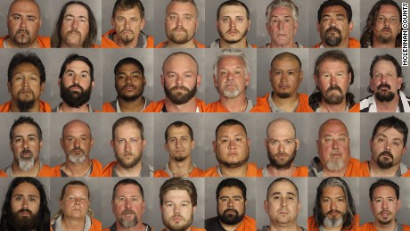 Bikers mistakenly released on $50,000 bail