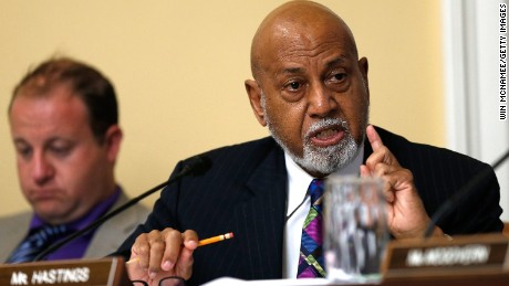 Rep. Alcee Hastings (D-FL) speaks during a debate at a committee meeting July 29, 2014 at the U.S. Capitol.