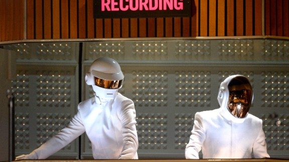 French electronic duo Daft Punk often add robotic effects to their voices -- unsurprisingly given their personas -- and have used Auto-Tune very prominently in their dance hit One More Time.