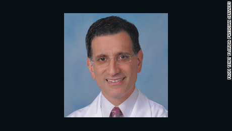 Dr. Michael Black, pediatric heart surgeon, St. Mary's Medical Center