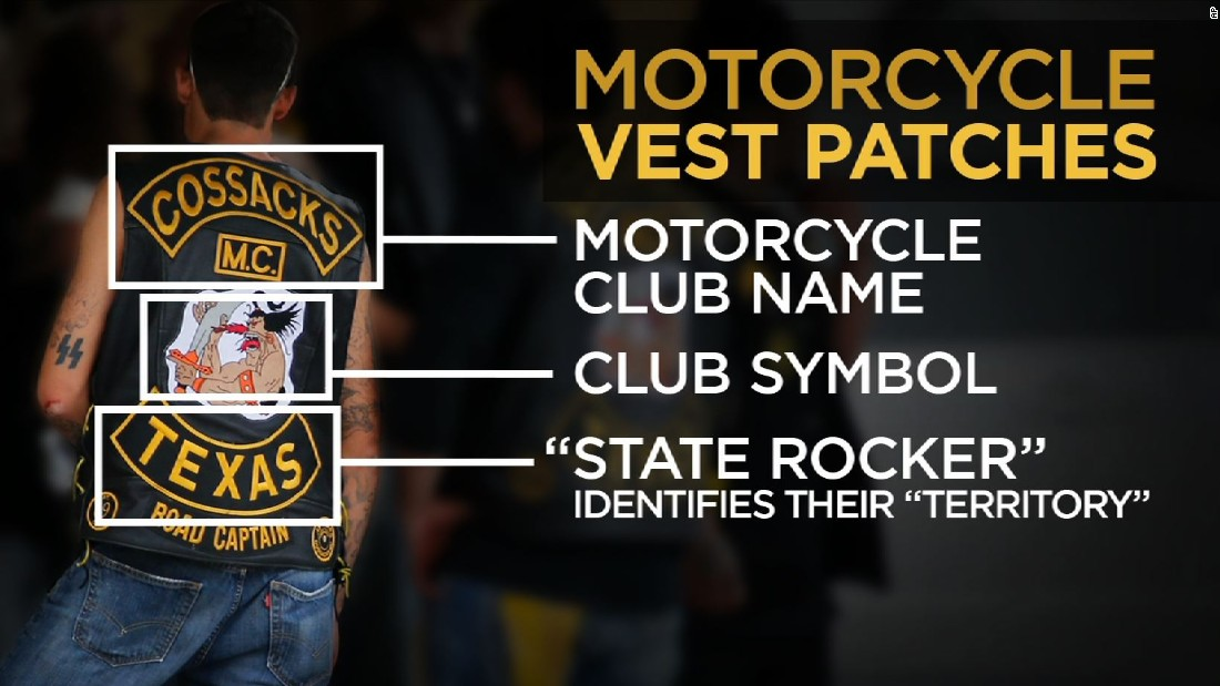 Biker Vest Patches >> Former undercover agent decodes biker vest patches - CNN Video