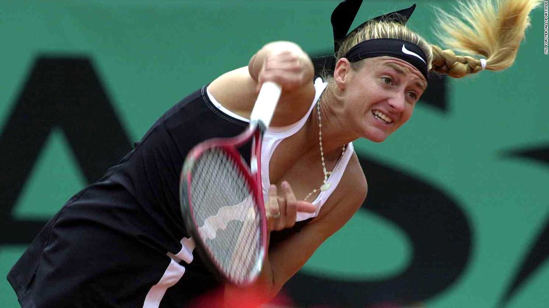 Pierce won her first grand slam in 1995 before winning her home French Open five years later. She also reached the U.S. Open final in 2005.