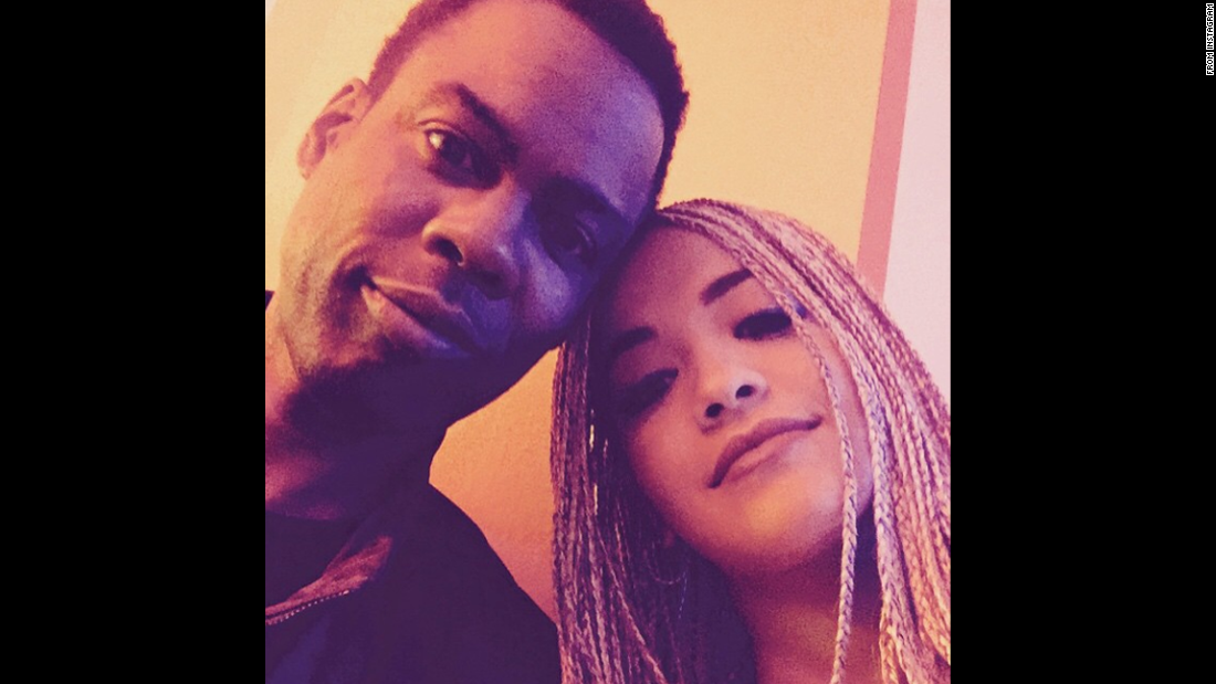 "Singer Rita Ora takes a selfie with comedian Chris Rock on Saturday, May 16. ""Oh well hi there Chris Rock. You absolute legend,"" <a href=""https://instagram.com/p/2wsxVlRsyW/"" target=""_blank"">Ora wrote on Instagram. </a>"