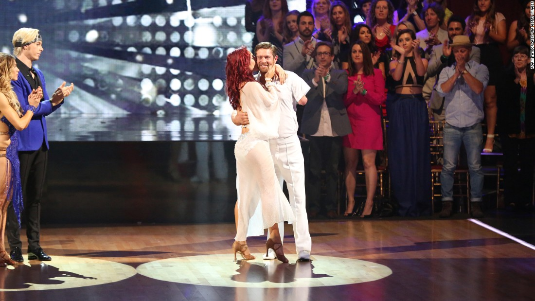 Retired U.S. Army Sgt. Noah Galloway and professional dancer Sharna Burgess came in third place. Galloway, who lost an arm and a leg in the Iraq War,  won the hearts of the judges and audience with his determination and incredible dancing.