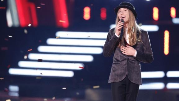Hat aficionado Sawyer Fredericks was named the winner of 'The Voice.'