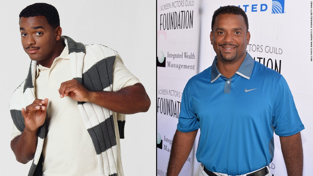 "Alfonso Ribeiro will always be identified with Will's preppy cousin Carlton Banks, <a href=""https://www.youtube.com/watch?v=zS1cLOIxsQ8"" target=""_blank"">who even has a dance named after him.</a> In 2014, Ribeiro won season 19 of ""Dancing With the Stars."" He currently hosts ABC's ""America's Funniest Videos."""