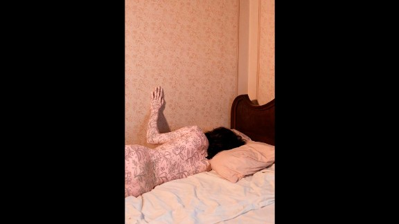 """""""This is the routine of trying to fall asleep at night,"""" Tahmaseb said. """"That feeling of insomnia where you just can"""