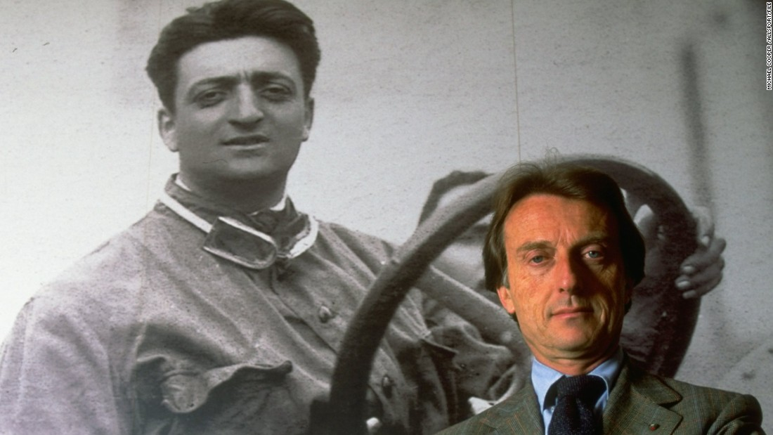 "Di Montezemolo, pictured in front of an image of team founder Enzo Ferrari, had recruited Frenchman Todt  to ""The Prancing Horse"" after becoming president. As team manager in the mid-1970s, Di Montezemolo helped Ferrari win three successive constructors' titles."