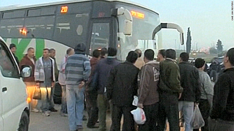 Trial Palestinian bus segregation policy suspended