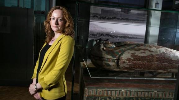 Lidija McKnight is an Egyptologist from the University of Manchester.