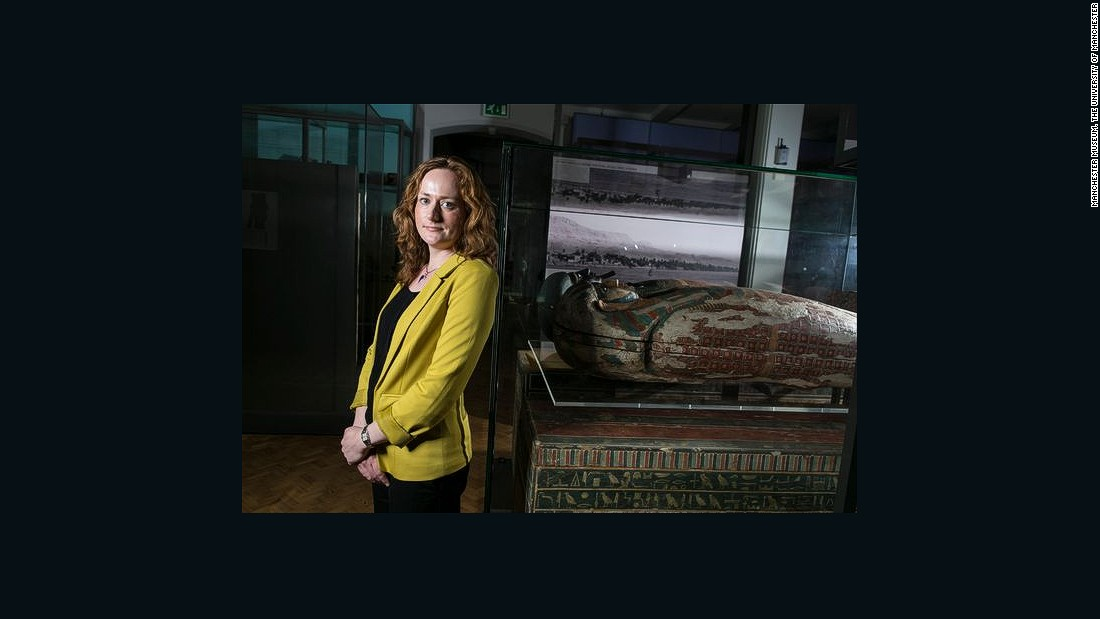 Lidija McKnight is an Egyptologist from the University of Manchester.