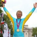 Alexandr Vinokurov of Kazakhstan cycling Gold Medal 2012
