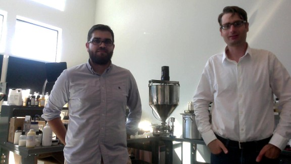 Pembient CEO Matthew Markus (left ) is targeting up to 25% of the $500 million black market, and if successful will move on to elephant tusks, tiger bone, and pangolin scales.
