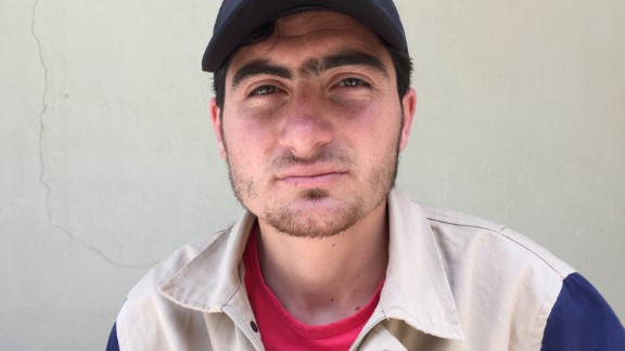 """Mahmoud Altaifour, 23. Business management student. """"I rescued a man from under a roof alive. When we got there to rescue him, we didn't have the proper equipment and we had to wait before we were able to pull him out. I even rode in the ambulance with him to the because I wanted to make sure he got the best doctor, but he died at the hospital."""""""