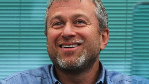 Russian businessman and Chelsea football club owner Roman Abramovich.
