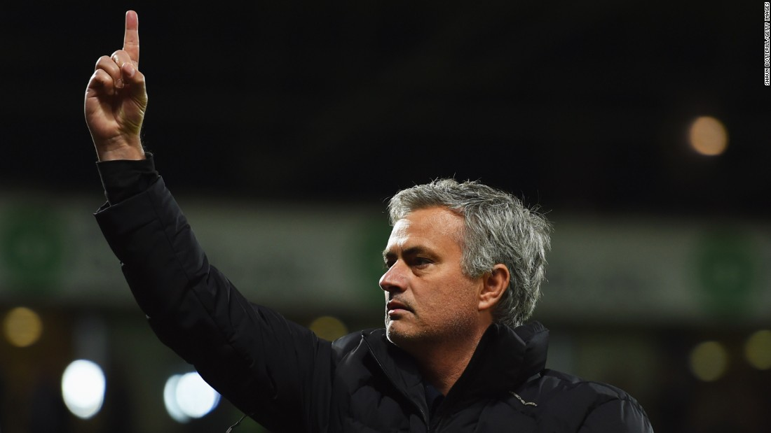 Jose Mourinho, the Chelsea manager, is one of the most successful coaches in the game. Nicknamed 'The Special One,' Mourinho led Chelsea to the Barclays Premier League title and League Cup last season.