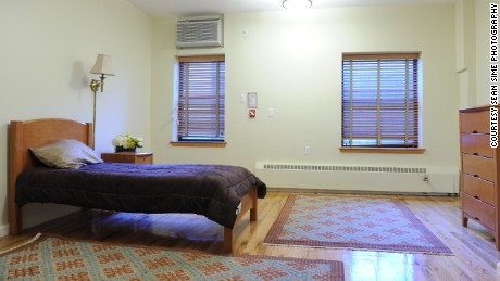 Spacious, apartment-style common rooms and bedrooms are open for walk-in care.