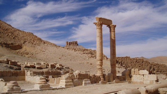 "In 2007, CNN Correspondent Ivan Watson visited the ancient desert city of Palmyra, Syria as a tourist on the bus. It was an ""astounding sight,"" he recalls: ""A thousand year old city remarkably preserved in the middle of the desert."" Now, the site is under grave threat from ISIS."