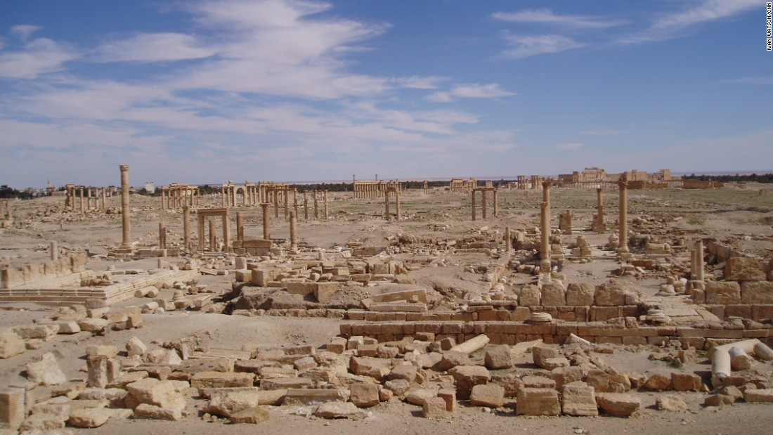 The ruins of Palmyra are a cultural oasis. Even today, the landscape is filled with ancient Greco-Roman columns, arches, temples and an amphitheater.