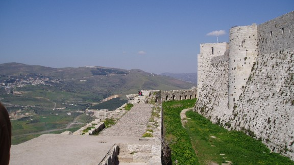 The castle was built in the 11th century and functioned for centuries as a military base.
