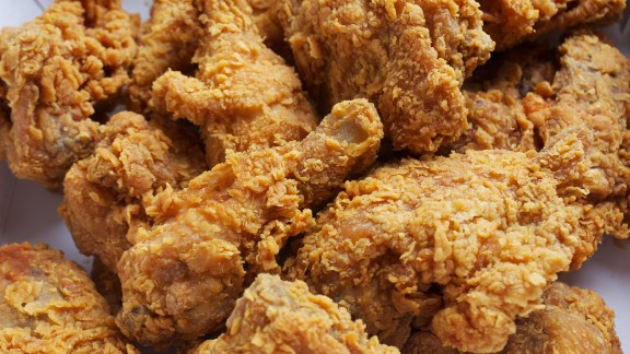 Meat and fried foods can cause bacteria linked to obesity to flourish.