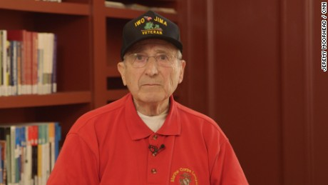 Joe Bruni WWII Veteran reads his poem 'Ode to Joe'