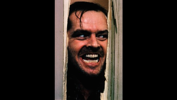 "Jack Nicholson stars as Jack Torrance, a writer who loses his mind, terrorizes his family and encounters paranormal activity in ""The Shining"" which was released in 1980."
