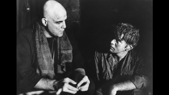 """""""Apocalypse Now"""" (1979): Marlon Brando and Martin Sheen star in this iconic film about the Vietnam War, directed by Francis Ford Coppola. (Amazon)"""