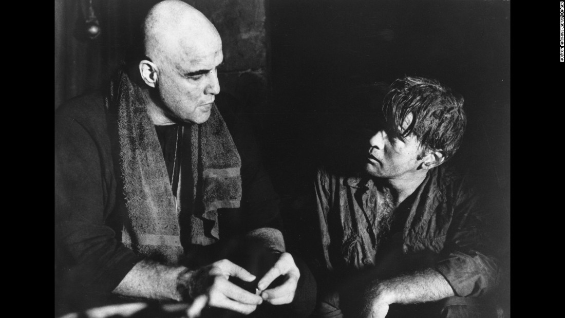 "<strong>""Apocalypse Now"" (1979):</strong> Marlon Brando and Martin Sheen star in this iconic film about the Vietnam War, directed by Francis Ford Coppola. <strong>(Amazon) </strong>"