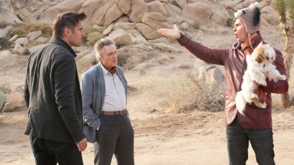"""""""Seven Psychopaths"""" (2012): Criminals, a kidnapped dog and a struggling writer all come together in this black comedy starring Colin Farrell, Christopher Walken and Sam Rockwell. (Netflix)"""