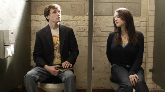 """""""Charlie Bartlett"""" (2007): Anton Yelchin and Kat Dennings star in this romantic comedy about a rich kid who takes on the role of psychiatrist at his new high school. (Hulu)"""