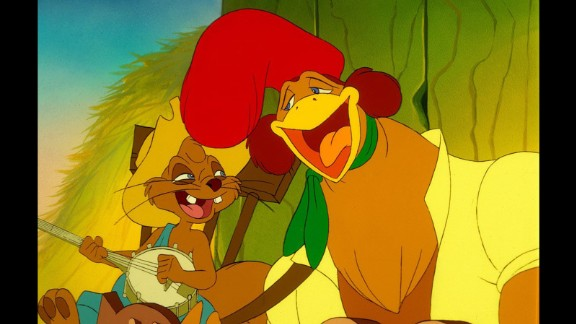 """""""Rock-a-Doodle"""" (1991):  Chanticleer the rooster has a few adventures in this animated comedy. (Hulu)"""