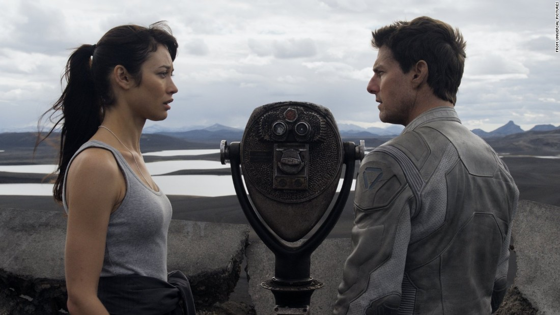 "Sure, Tom Cruise still looks youthful. Even so, he was 50 when paired with Olga Kurylenko, 33, in ""Oblivion."""