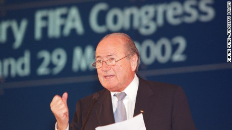FIFA: Sepp Blatter 'not involved' in allegations