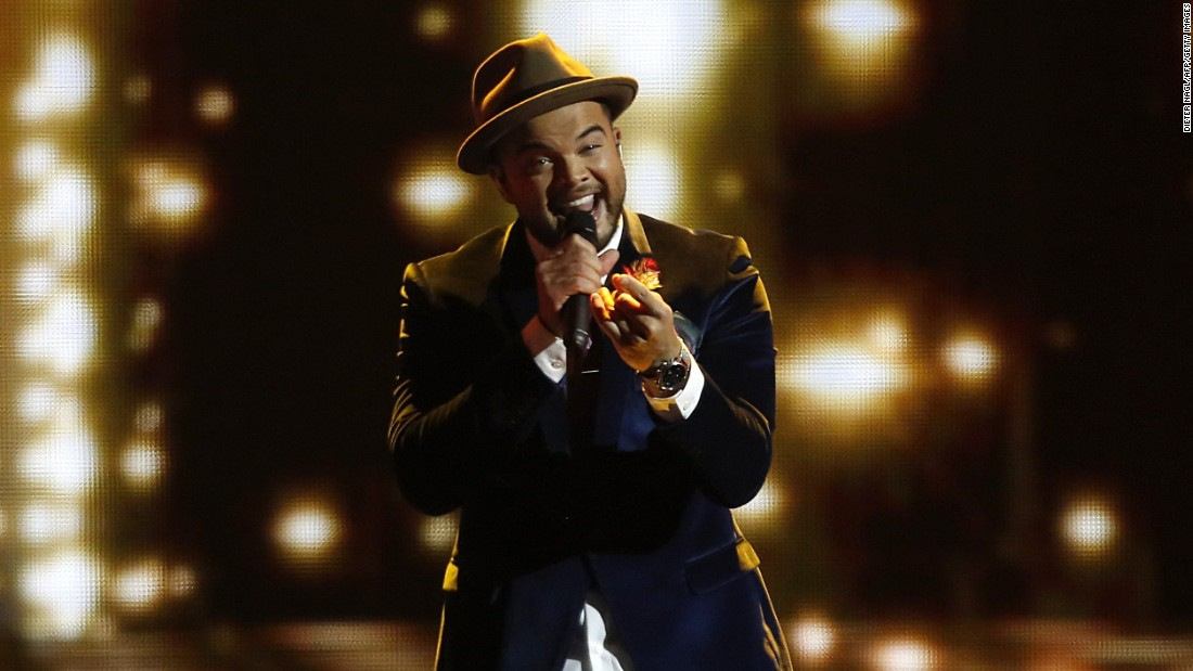"Guy Sebastian wowed the crowd with ""Tonight Again."""