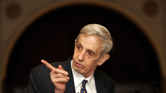 "John Forbes Nash Jr., the mathematician whose life inspired the film ""A Beautiful Mind,"" died in a car crash with his wife, Alicia, on May 23. He was 86."