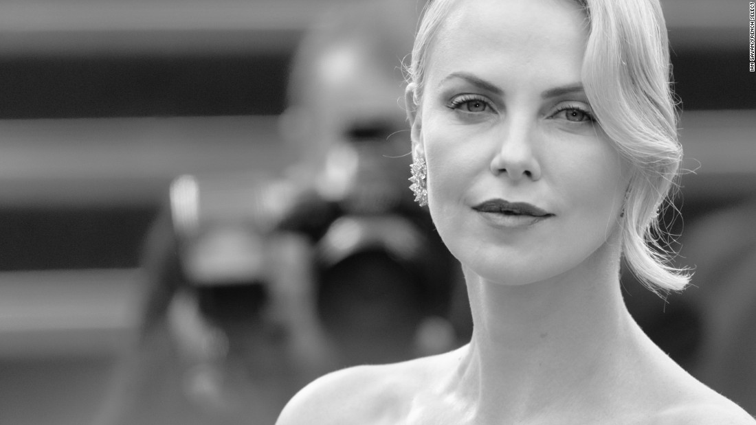 Actress Charlize Theron poses during the 68th annual Cannes Film Festival on May 23, 2015 in Cannes, France. Theron starred in Mad Max: Fury Road -- a film that is, surprisingly, not in competition.
