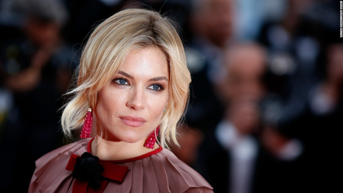 "Actress Sienna Miller attends the premiere of ""Macbeth."" Shakespeare took a hit in the opening credits, relegated to forth place behind the film's three screenwriters."