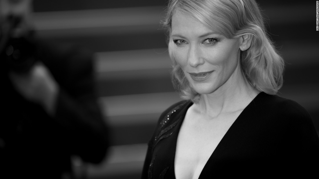 "Cate Blanchett attends the ""Macbeth"" premiere. Many at Cannes expect her to follow her Oscar-winning role in ""Blue Jasmine"" with another win for her performance in ""Carol."""