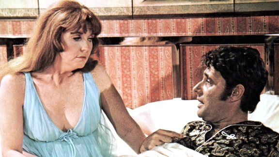 "Anne Meara appears with Harry Guardino in ""Lovers and Other Strangers"" circa 1970."