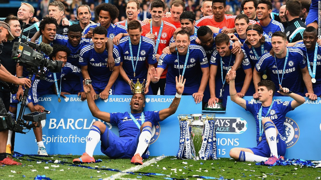 Drogba had won three league titles in his first spell at Chelsea, and the 37-year-old added another along with the League Cup as he was largely used as a squad player in 2014-15.