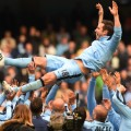 frank lampard man city thrown in air