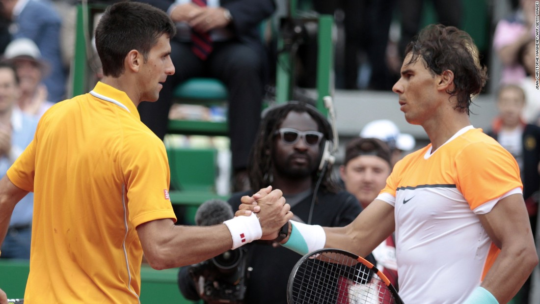 Up next for Nadal in the semifinals is world No. 1 Novak Djokovic. Djokovic, the defending champion, has won seven of their eight previous matches.