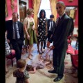 Obama and toddler