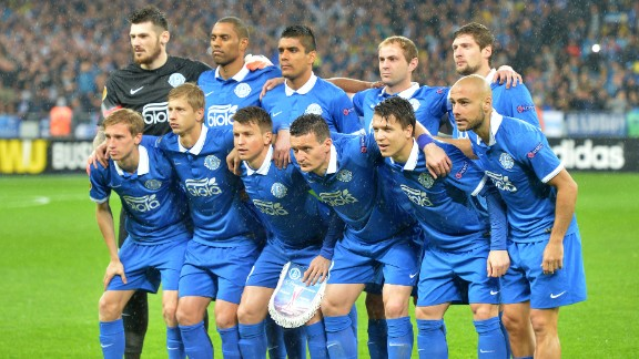 Dnipro, which comes from the Ukrainian city of Dnipropetrovsk, will face Sevilla in the final of the Europa League on Wednesday. It is an extraordinary achievement for a club which has been forced to play its home games in Kiev because of the ongoing conflict with Russia.