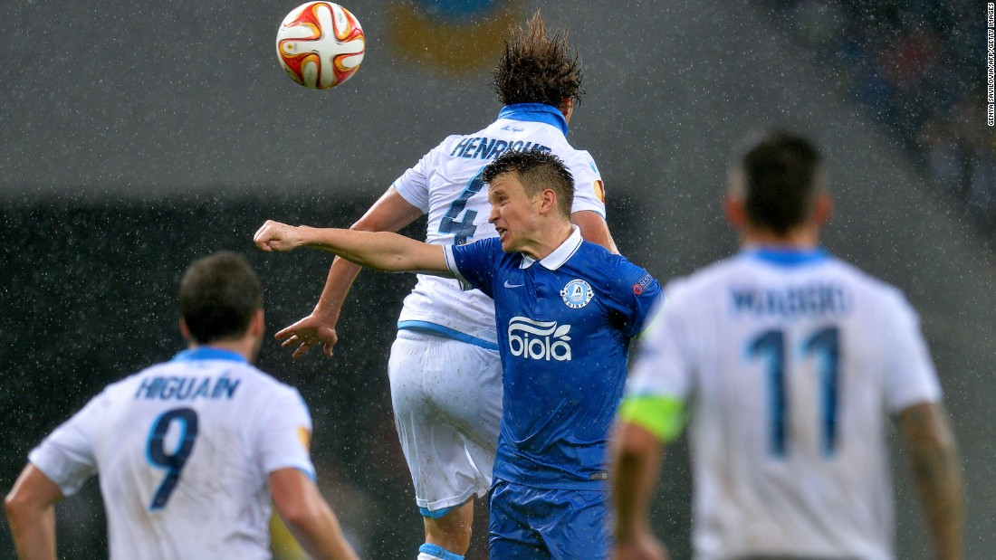 Led by Ruslan Rotan, its captain, Dnipro overcame the challenge of Italian giant Napoli in the semifinals. A 1-1 draw in Naples was followed by a 1-0 win in the second leg.