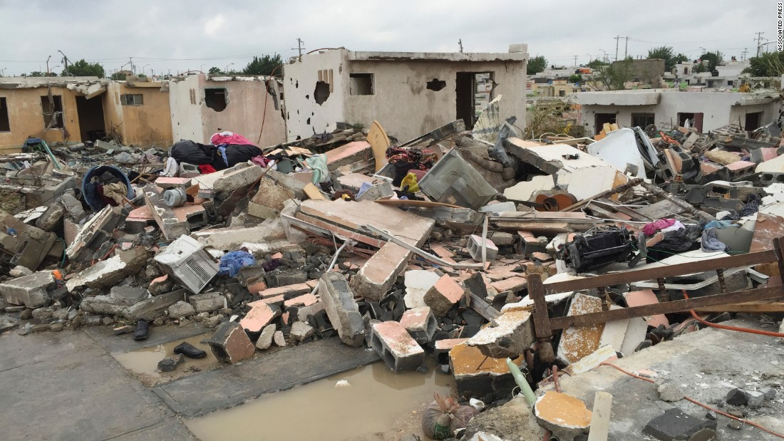 A powerful tornado touched down in Ciudad Acuna, Mexico, on Monday, May 25, near the U.S.-Mexico border. At least 13 people were killed, authorities said.